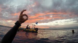 Sortie Mer crepusculaire